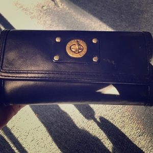 Black Leather Marc Jacobs Wallet
